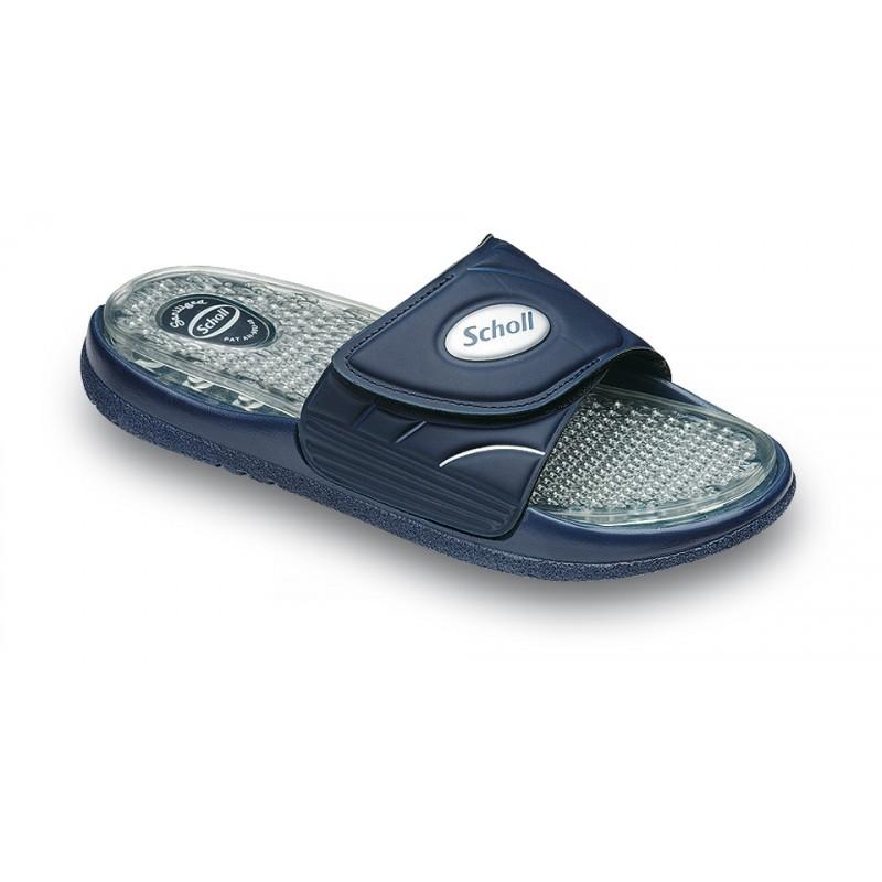 Scholl AQUAJETS modré pantofle. Zdravotní obuv ... 5363b8efa90
