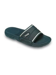 Scholl PEDALO - modré pantofle