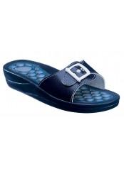 FITNESS PEBBLE - modré zdravotní pantofle